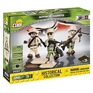 Cobi 3 figures with accessories Africa Korps - Building Kit
