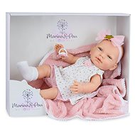 Marina & Pau 1612-K Doll with a blanket - baby New Born baby girl - Doll