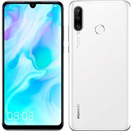 HUAWEI P30 Lite gradient white - Mobile Phone
