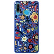 Huawei Original Colorful TPU Flower Blue Case for P30 Lite