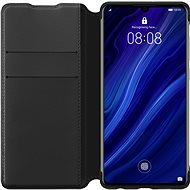 Huawei Original Wallet Case Black for P30 Lite - Mobile Phone Case