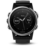 Garmin Fenix ​​5S Silver Optic Black Band - Smartwatch