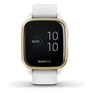 Garmin Venu Sq LightGold/White Band - Smartwatch