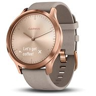 Garmin vívomove HR Premium Rose Gold Grey Suede - Smartwatch