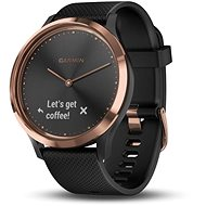 Garmin vívomove HR Sport Rose Gold Black (Size S/M) - Smartwatch