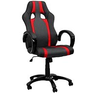 HAWAJ red/black with stripes - Office Chair