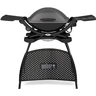 Weber Q 2400 Stand Electric Grill, Dark Grey - Electric Grill