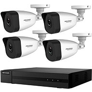HikVision HiWatch HWK-N4142BH-MH, KIT, 2MP, Recorder + 4 Cameras, 4ch, 1TB HDD - Camera System