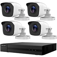 HikVision HiWatch HWK-T4142BH-MP, KIT, 2MP, Recorder + 4 Cameras, 4ch, 1TB HDD - Camera System