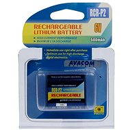 AVACOM for CR-P2 Lithium 6V 500mAh Black - Camera Battery