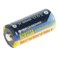 AVACOM for CR123A, CR23, DL123A  Lithium 3V 500 mAh - Camera Battery