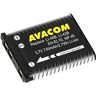 AVACOM for Olympus Li-40B, Li-42B Li-ion 3.7V 740mAh 2.7Wh AVA - Camera Battery