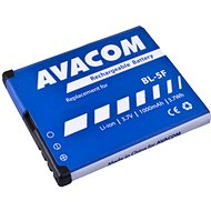 AVACOM for Nokia N95, E65, Li-Ion 3.6V 1000mAh (replacement for BL-5F) - Mobile Phone Battery