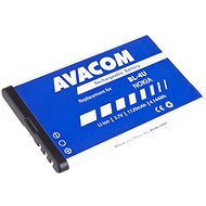 AVACOM for Nokia 5530, CK300, E66, 5530, E75, 5730, Li-ion 3.7V 1120mAh (replacement for BL-4U) - Mobile Phone Battery