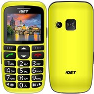 iGET Simple D7 Yellow - Mobile Phone