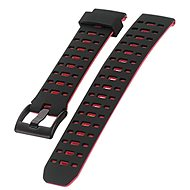 IMMAX for SW8 watch, black and red - Watch band