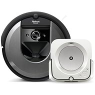 Set iRobot Roomba i7 and iRobot Braava m6 - Robotic Vacuum Cleaner