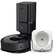 Set iRobot Roomba i7 + and iRobot Braava m6 - Robotic Vacuum Cleaner