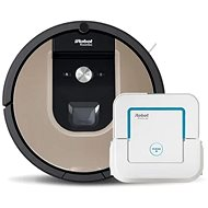 Set of  iRobot Roomba 976 and iRobot Braava 240 - Robotic Vacuum Cleaner