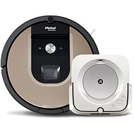Set iRobot Roomba 976 and iRobot Braava Jet m6