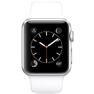 Apple Watch Sport 38mm Silver aluminium with white band - Smartwatch