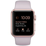 Apple Watch Sport 38mm Rose gold aluminium with lavender band - Smartwatch