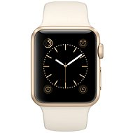 Apple Watch Sport 38mm Gold aluminium with white band - Smartwatch