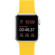 Apple Watch Sport 42mm Silver aluminium with yellow band - Smartwatch