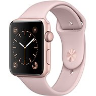 Apple Watch Series 2 42mm Rose Gold Aluminium Case with Pink Sand Sport Band - Smartwatch