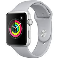 Apple Watch Series 3 42mm GPS Silver Aluminum Case with Fog Sport Band - Smartwatch