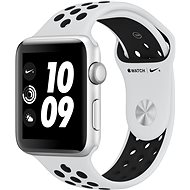 Apple Watch Series 3 Nike+ 42mm GPS Silver Aluminum Case with Pure Platinum/Black Nike Sport Band - Smartwatch