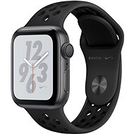 Apple Watch Series 4 Nike + 40mm Space black black with anthracite / black sports strap Nike - Smartwatch