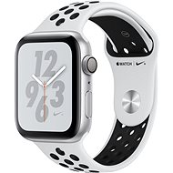 Apple Watch Series 4 Nike+ 44mm Silver Aluminium Case with Pure Platinum/Black Nike Sport Band - Smartwatch
