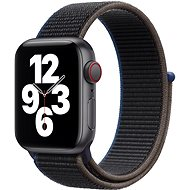 Apple Watch SE 44mm Cellular Space Black Aluminium with Anthracite Sports Strap - Smartwatch