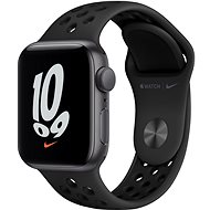 Apple Watch Nike SE 40mm Space Grey Aluminium Case  with Anthracite/Black Nike Sport Band - Smartwatch
