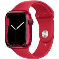 Apple Watch Series 7 45mm Red Aluminium Case with Red Sport Band - Smartwatch