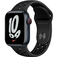 Apple Watch Nike Series 7 41mm Cellular Midnight Grey Aluminium Case with Anthracite/Black Nike Sport Band - Smartwatch