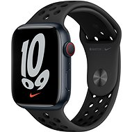Apple Watch Nike Series 7 45mm Cellular Midnight Aluminium Case with Anthracite/Black Nike Sport Band - Smartwatch