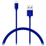 CONNECT IT Colorz Lightning Apple 1m blue - Data cable
