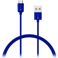 CONNECT IT Colorz Micro USB 1m blue - Data cable