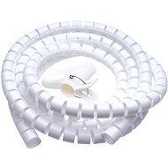 CONNECT IT CableFit WINDER white 2.5m - Cable Management