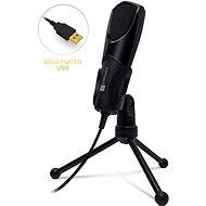 CONNECT IT CMI-8000-BK YouMic USB, Black - Handheld microphone