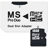 CONNECT IT MS PRO DUO for 2x Micro SDHC - Adapter