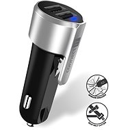 CONNECT IT Emergency Car Charger, Silver - Car Charger