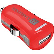 CONNECT IT InCarz Colorz 2.1A Red - Car Charger