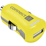 CONNECT IT InCarz Colorz 2.1A Yellow - Car Charger