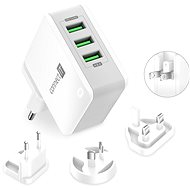 CONNECT IT Nomad2 WorldTravel White - AC Adapter