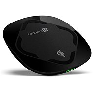 CONNECT IT Qi Certified Wireless Fast Charge Black - Wireless charger