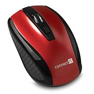 CONNECT IT CI-1224 Red - Mouse