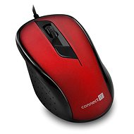 CONNECT IT Optical USB Mouse Red - Mouse